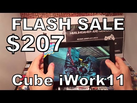 Cube iWork11 Flash Sale $207 Promotion/Voucher/Coupon gearbest.com (August/2016)