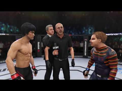 Bruce Lee vs. Chucky (EA Sports UFC 3) - CPU vs. CPU
