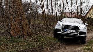 Audi Q5 (2017) quattro - adaptive air suspension & small offroad test :: [1001cars]