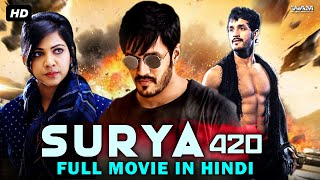SURYA 420 New Released Full Hindi Dubbed Movie  Action Thriller Movie  South Movie In Hindi