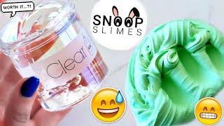 connectYoutube - 100% HONEST Snoop Slimes Slime Shop REVIEW! (secret shopped) Nichole Jacklyne