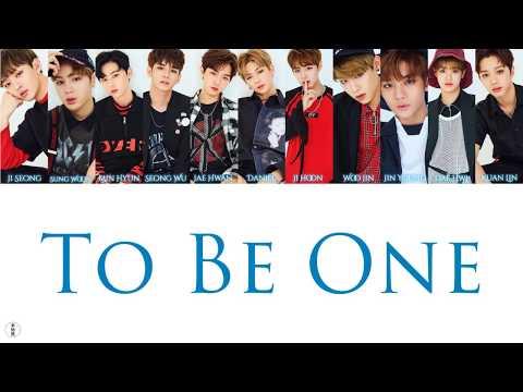 【中字+空耳】Wanna One - To Be One
