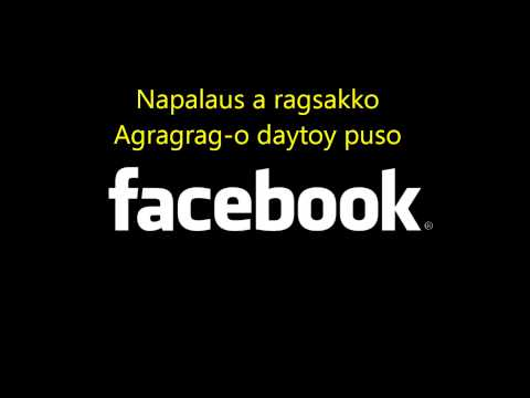 Facebook  ( Ilocano Song Karaoke with Lyrics) - Noraline Domingo