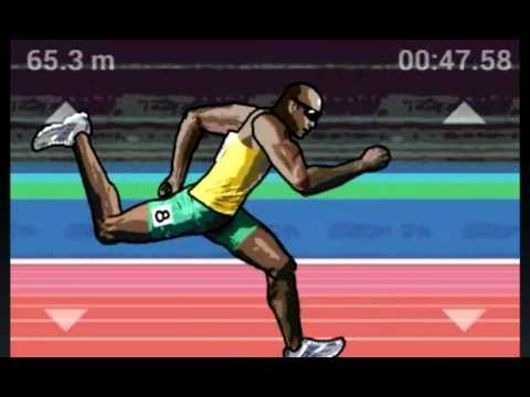 QWOP/Running frenzy 100m run