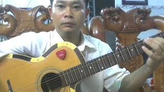 Vọng Kim Lang dây đào-Hướng dẫn học đàn ghita cổ | Tấn Thành Bàu Năng