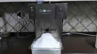 최고의 눈꽃빙수기 스노웨이! SNOWAY 다양한 각도에…
