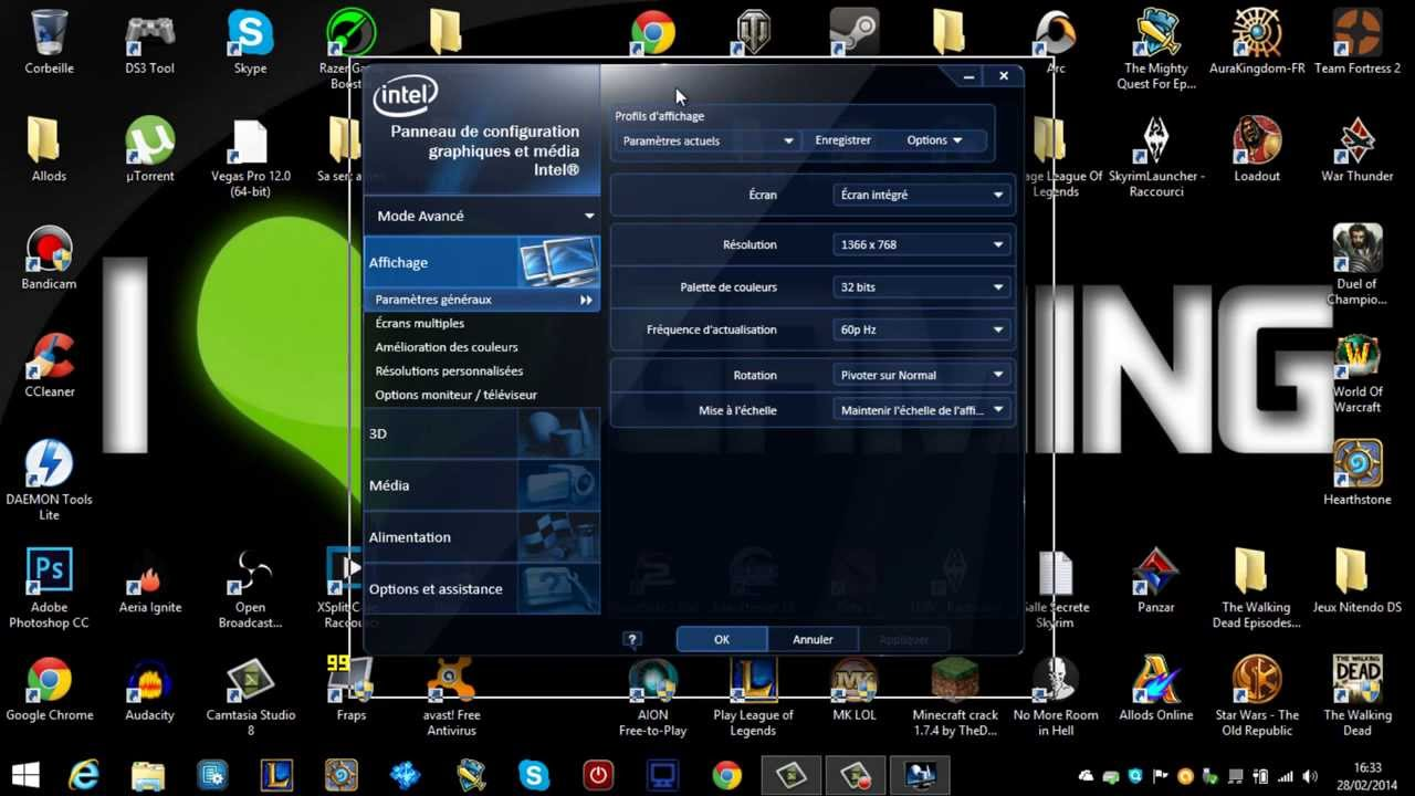carte graphique intel hd Tuto) Comment Booster sa Carte Graphique   Intel HD Graphics   YouTube