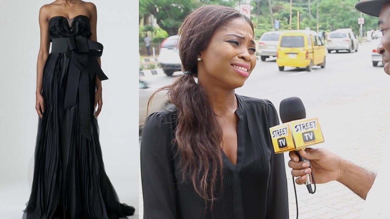 Black Wedding Dress On TV