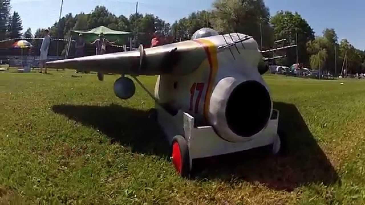 Arado 581/5 E-Impeller Jet-Meeting Salzburg 2013/3 - YouTube
