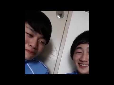 Gay korean couples kissing romantic