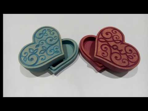 Пара простых шкатулок для начинающих/A Couple Simple Wooden Boxes