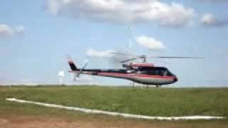 pouso e decolagem helicptero em sbml