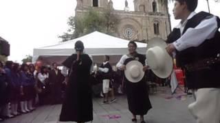 Lluzhapa. Canal: Santos Chamba,Danza: El Baile de mi Sombrero