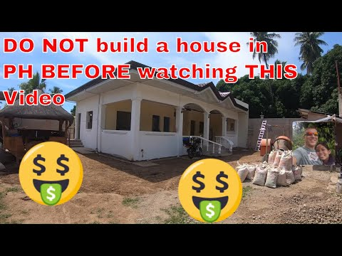How Much Does It Cost To Build A House In The Philippines | Do And Don'ts Of Building | Dumaguete