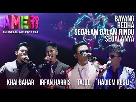 Anugerah MeleTOP ERA 2017: Khai Bahar, Irfan Haris, Tajul & Haqiem Rusli #AME2017