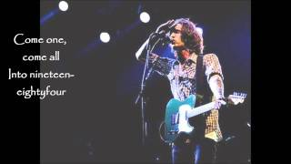 Talk Show On Mute By Incubus (Lyrics)