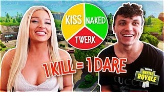 1 KILL = 1 DARE ft. MY BOYFRIEND (Fortnite: Battle Royale)