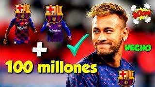 ÚLTIMA HORA: ¡¡EL BARCELONA CIERRA EL FICHAJE DE NEYMAR CON ESTOS DOS CRACKS MAS 100 MILLONES!!