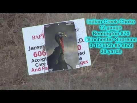 Indian Creek Choke Review 20 guage and 12 gauge Black