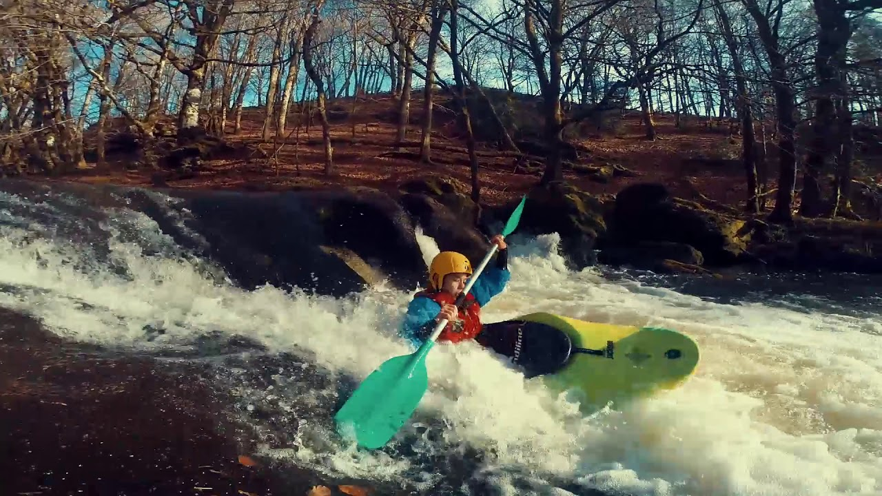Tarnac en Kayak hiver 2016