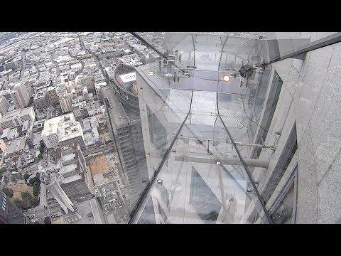 SkySlide at OUE Skyspace Los Angeles