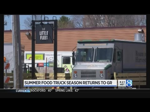 Food Truck Season Opens In Downtown Grand Rapids