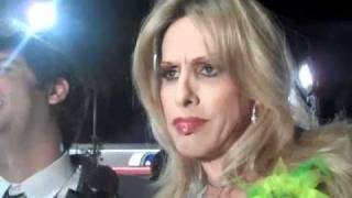 Alexis Arquette Smokes A Joint With Myspace