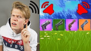 SOUNDS GUESSING IN ULTIMATE FORTNITE QUIZ