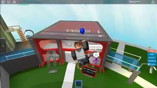 ROBLOX - How to glitch in the 100K Rap Room (Trade Hangout)
