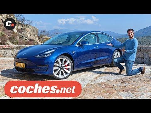 Tesla Model 3 | Prueba / Test / Review en español | Coches eléctricos | coches.net