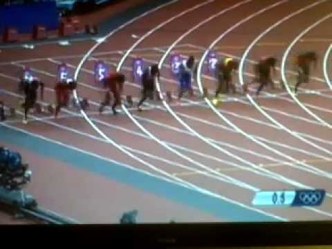 Fist Semifinal 100m  London2012 100m (Asafa Powell)