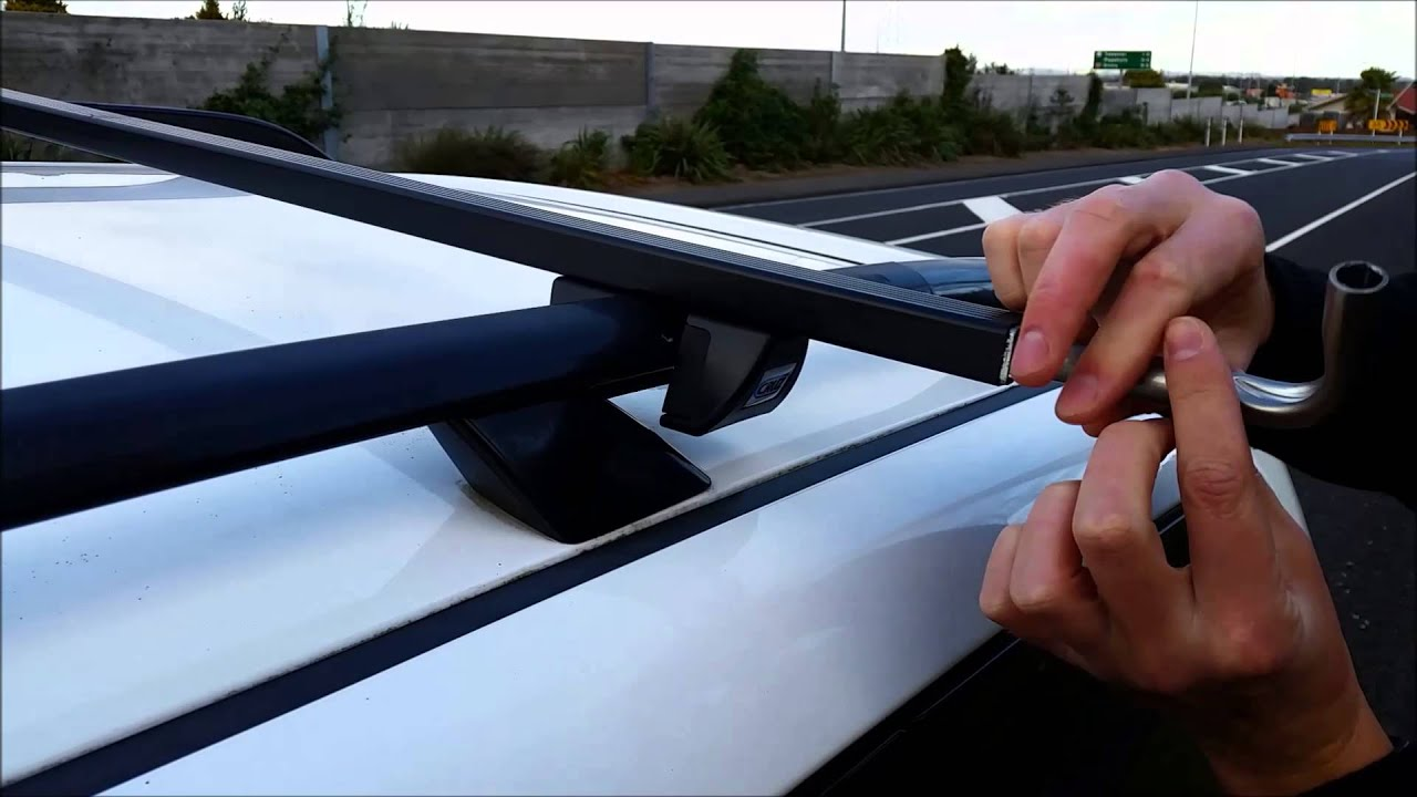 CRUZ Roof Racks- for vehicles with raised side rails ...