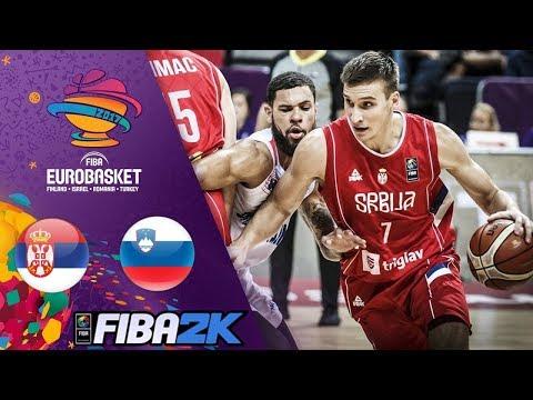 SRBIJA vs. SLOVENIJA - EUROBASKET FINALE 2017 - NAJLUDJA TEKMA IKADA ?! (EPIC RAGE !!!)