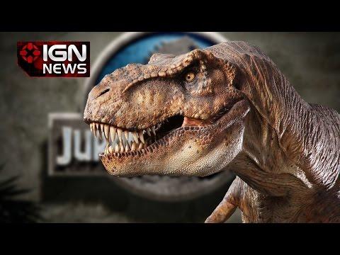 Jurassic Park's T-Rex Back for Jurassic World - IGN News