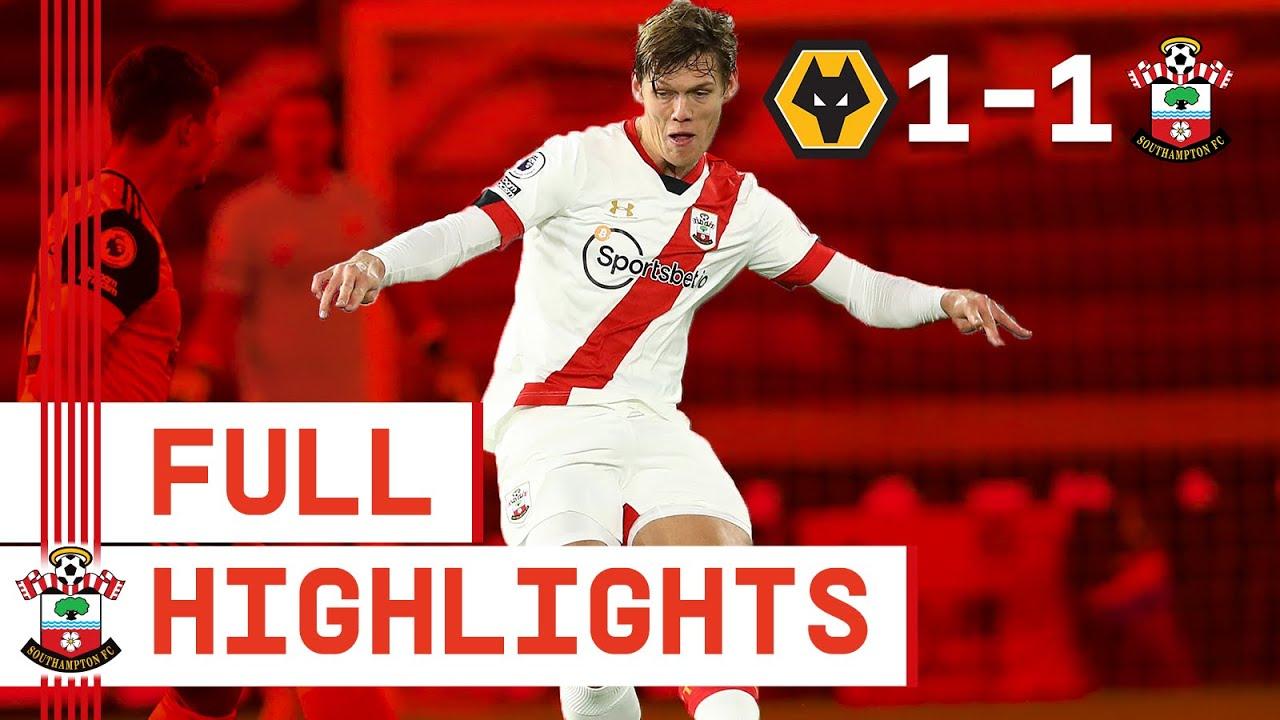HIGHLIGHTS: Wolverhampton Wanderers 1-1 Southampton | Premier League