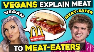 Gambar cover Can Vegans Explain Meat Dishes To Meat-Eaters?