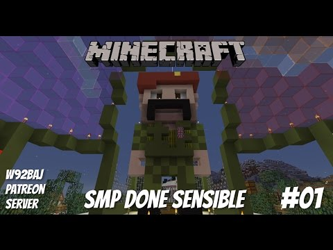 SMP Done Sensible - #01 - Minecraft - Let's Play - PC•720p•60fps