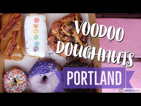 Best Doughnuts in Portland Oregon: Voodoo Doughnuts