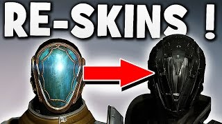 Destiny - RE-SKINS COMING !!