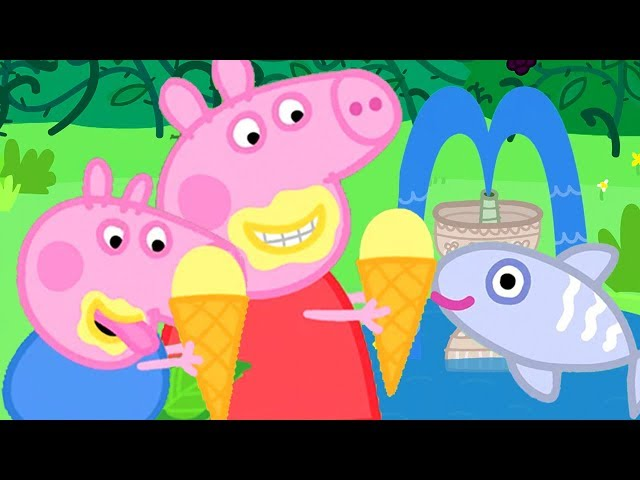 Peppa Pig Official Channel | Ice Cream Special - Peppa Pig's Day Out at the Fish Pond!