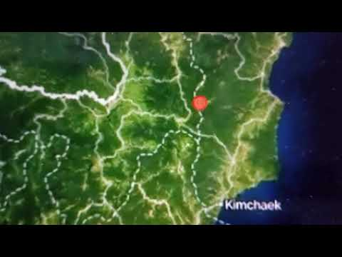 "Breaking ""North Korea Quake 2.9 Underground Nuke Test??"