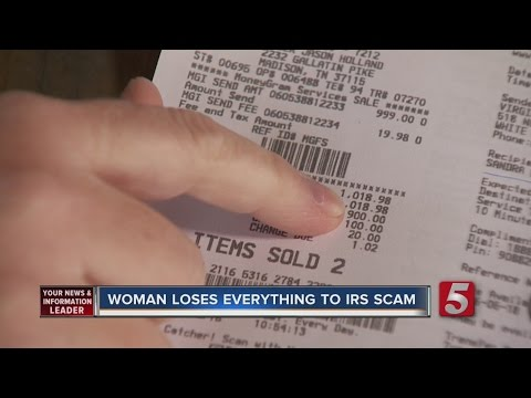 Woman Loses Life Savings To IRS Scam