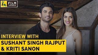 Sushant Singh Rajput & Kriti Sanon Interview wi...