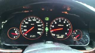 Subaru Legacy Outback Оптитронная приборная панель на АКПП с индикацией текущей передачи
