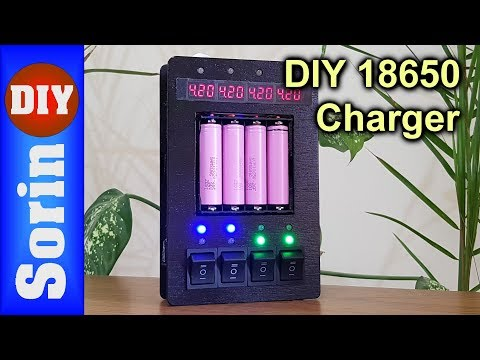 My DIY 18650 Battery Charger