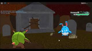 495. Wild Diancie in the Old Graveyard! PRP on Roblox Pt. 8