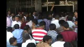 Protest against LBT by Traders and Shopkeepers in Pimpri-Chinchwad