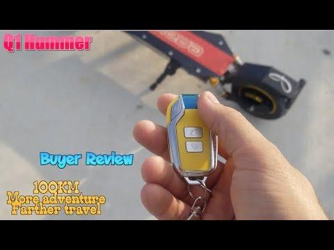 【Qiewa】Q1 Hummer Buyer Review From Amazon customer
