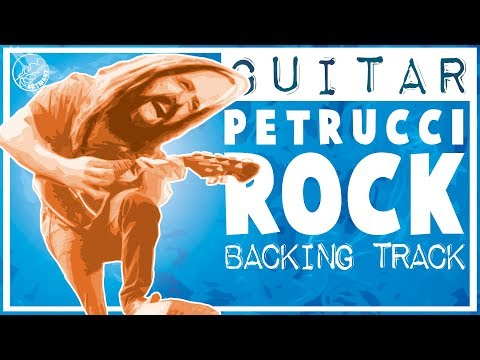 Rock Backing Track John Petrucci Style in C
