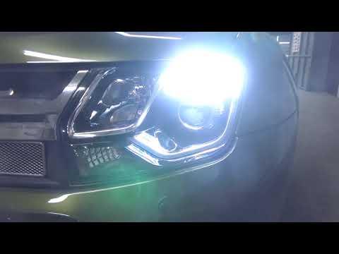 Renault Duster - улучшаем свет. Ставим BI LED модули